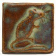 Handmade tile, mouse