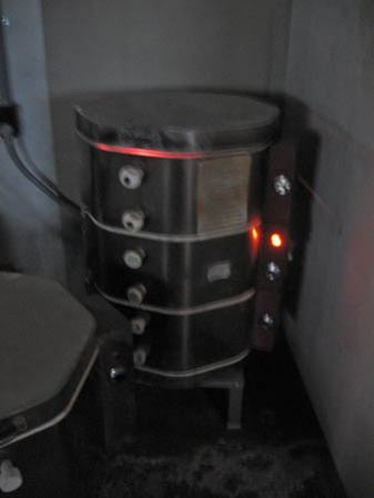 Ceramic Kiln - the glow of success!