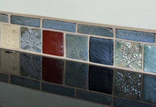 Idea for Installation of Handmade Ceramic Tile in Kitchen