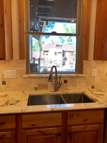 handmade tile kitchen