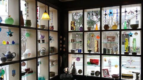 river light handmade craft gallery interior peninsula ohio