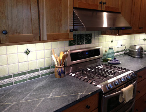 Handmade Tile Kitchen Backsplash