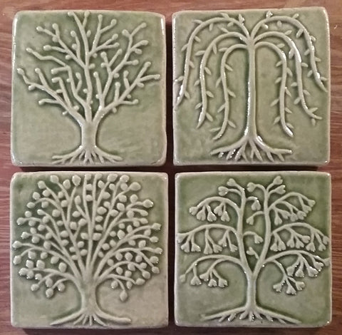 tree handmade tiles for holden arboretum