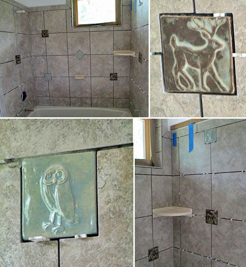 Ceramic Handmade Tiled Bathroom Pictures
