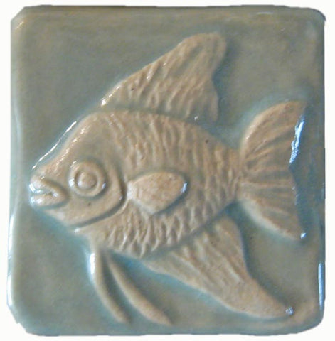 Handmade tiles ceramic arts and crafts tile for Aspen x2