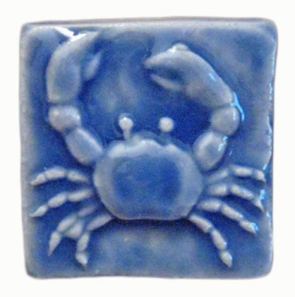 Crab 2 Quot X2 Quot Ceramic Handmade Tile 2 Inch By 2 Inch