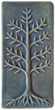 "Cypress 3""x6"" Ceramic Handmade Tile - Watercolor Blue Glaze"