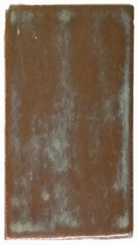 "1""x2"" Ceramic Handmade Field Tile - autumn glaze"