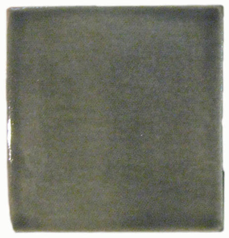 "1""x1"" Ceramic Handmade Field Tile - gray glaze"