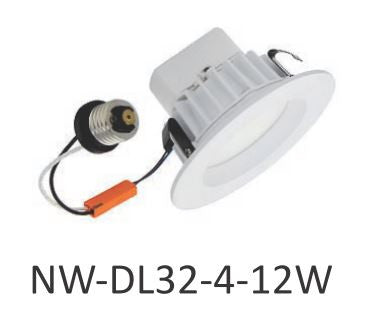 Nu World LED Downlight - 12W - 4 inch