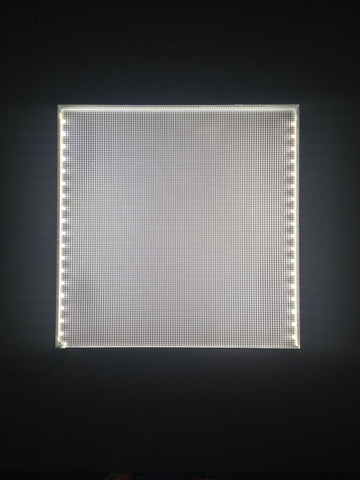 "Nu World LED Light Panel FRAMELESS 12"" X 12"""