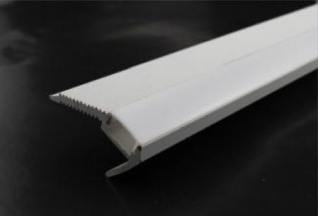 LED Flex Strip Aluminum Channel for Stair nose - NW-ALU-4827 - 1 Meter - 12mm