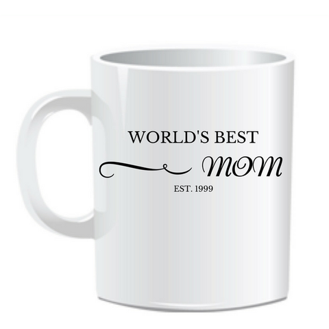 Custom 11oz Established Mom Mug - Wristlets N' Things