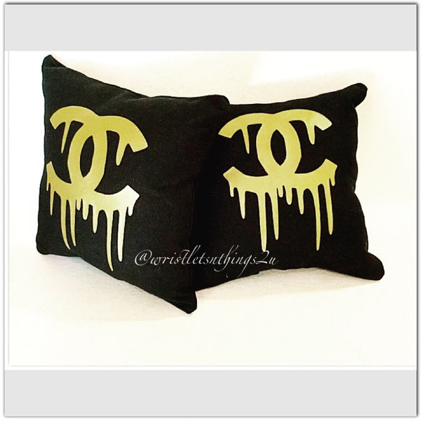 Custom Inspired Dripping Pillow - Wristlets N' Things