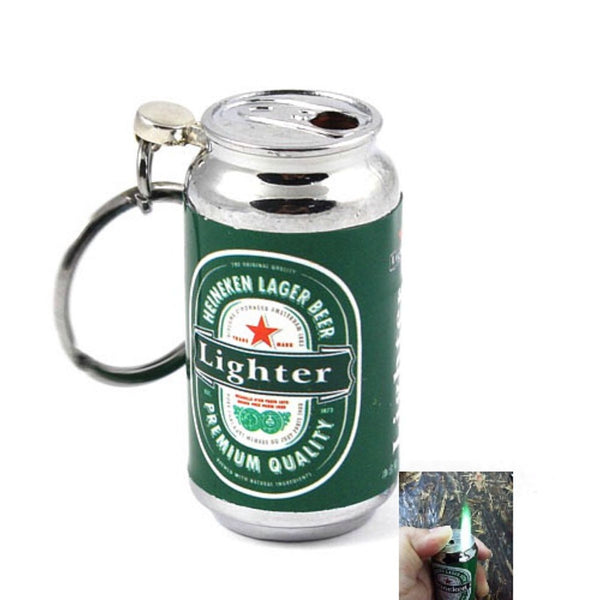 Novelty Beer Can Keychain Lighter - Wristlets N' Things