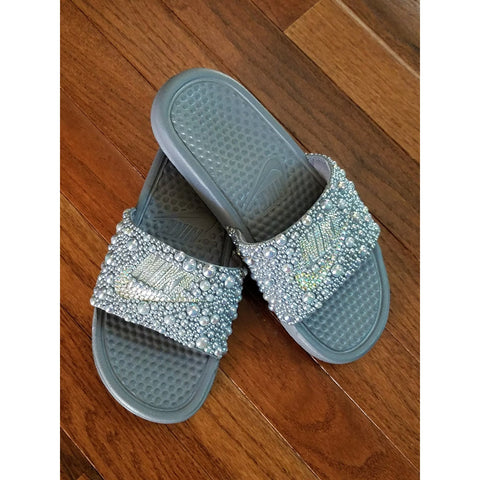 Custom Embellished Slides - Wristlets N' Things