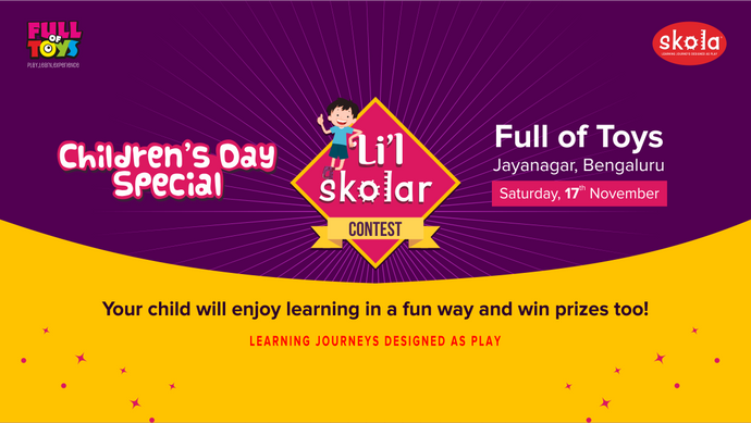 Skola – Full of Toys' Li'l Skolar Contest