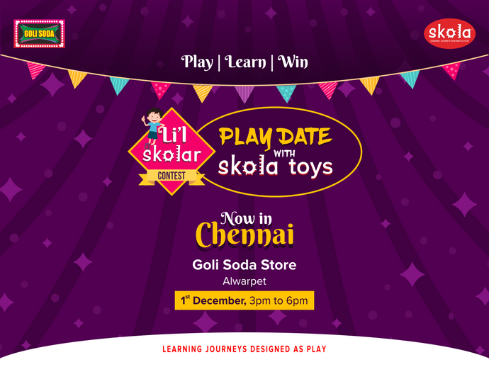 Li'l Skolar Contest now in Chennai!