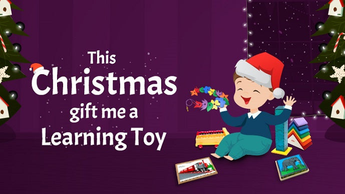 This Christmas Gift me a Learning Toy