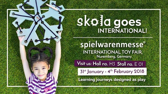Skola Toys Exhibiting in Nuremberg Toy Show January 2018