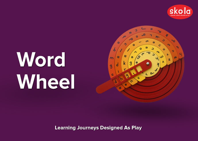 Word Wheel - A Toy For Language Skills Development