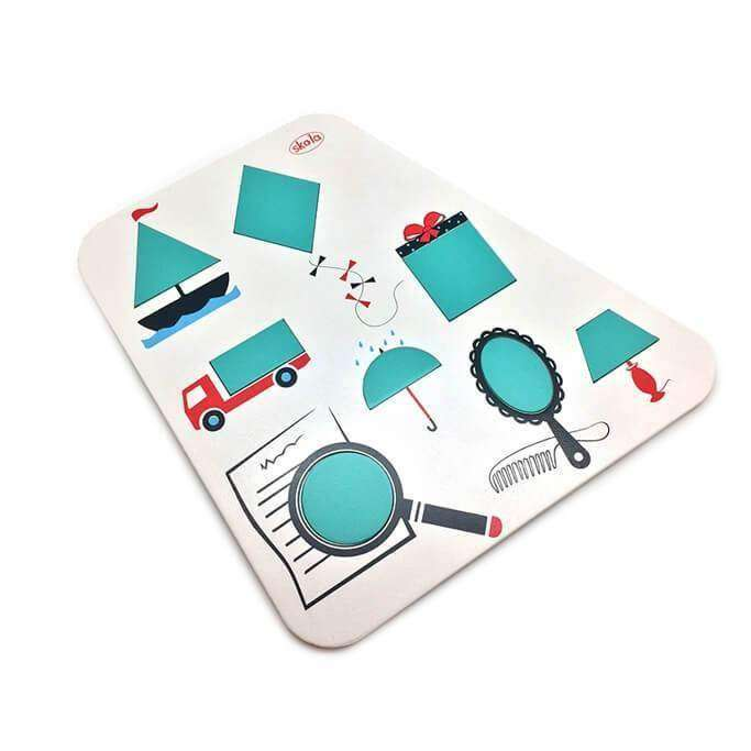 Geometry Puzzle Tray