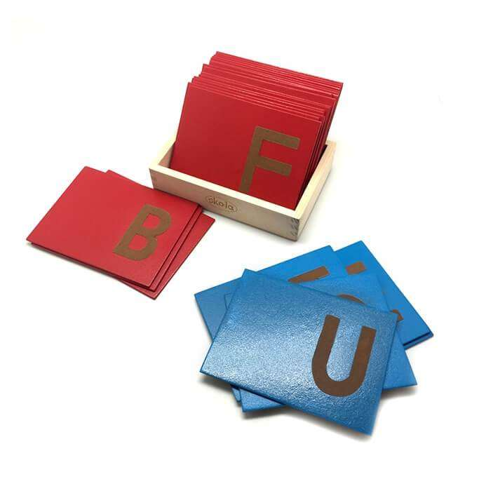 Sandpaper Letters Upper Case