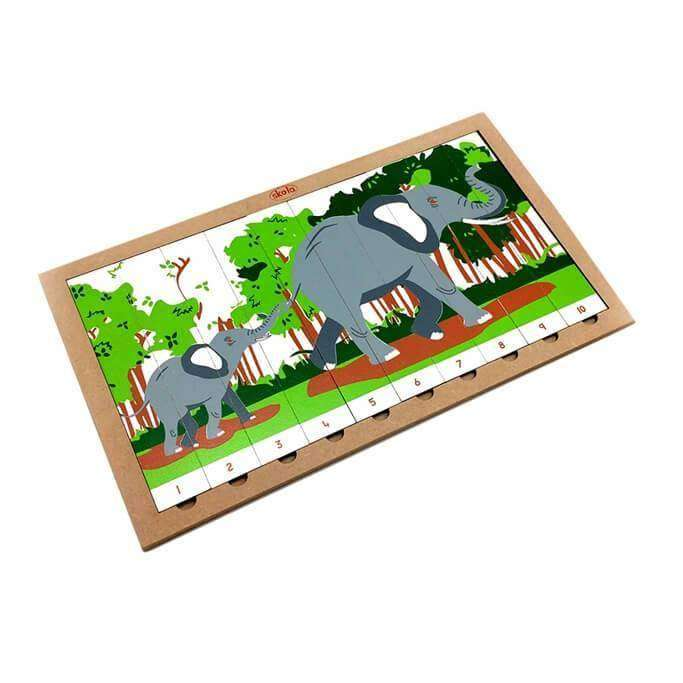 Sequencing Puzzle Elephants