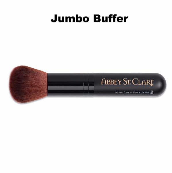 Vegan Synthetic Faux Brushes Jumbo Flat Bronzer