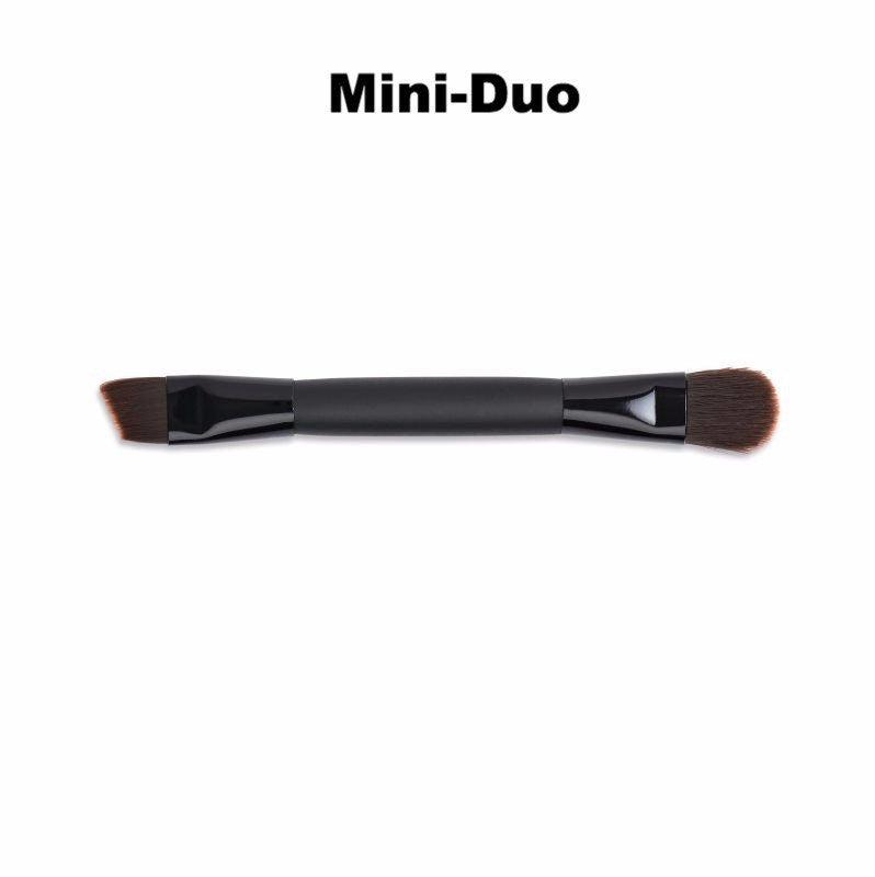 Vegan Synthetic Faux Brushes Mini Duo