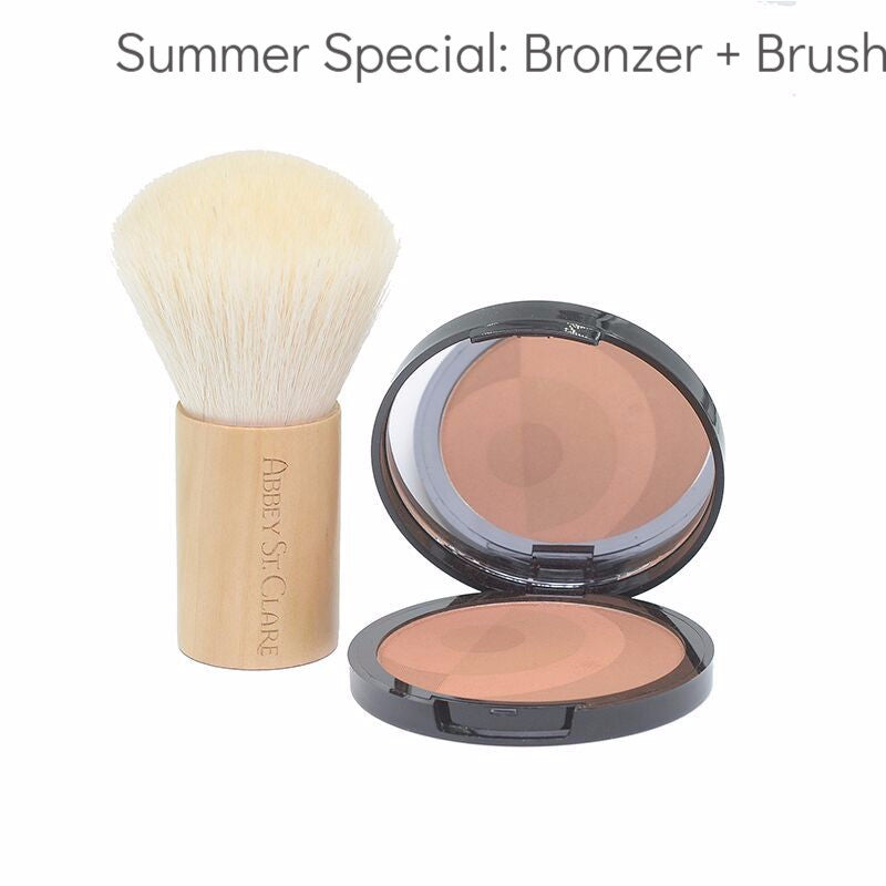 Mineral Pressed Bronzers - Contour, highlight, blush, balance, glow.