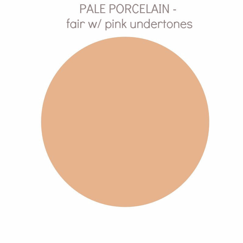 Pale Porcelain - fair w/ pink undertone