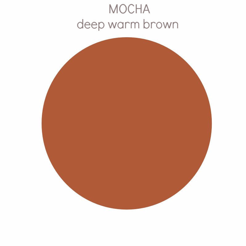 Mocha - deep warm brown tone