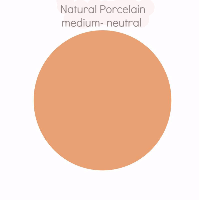 Natural Porcelain - medium natural