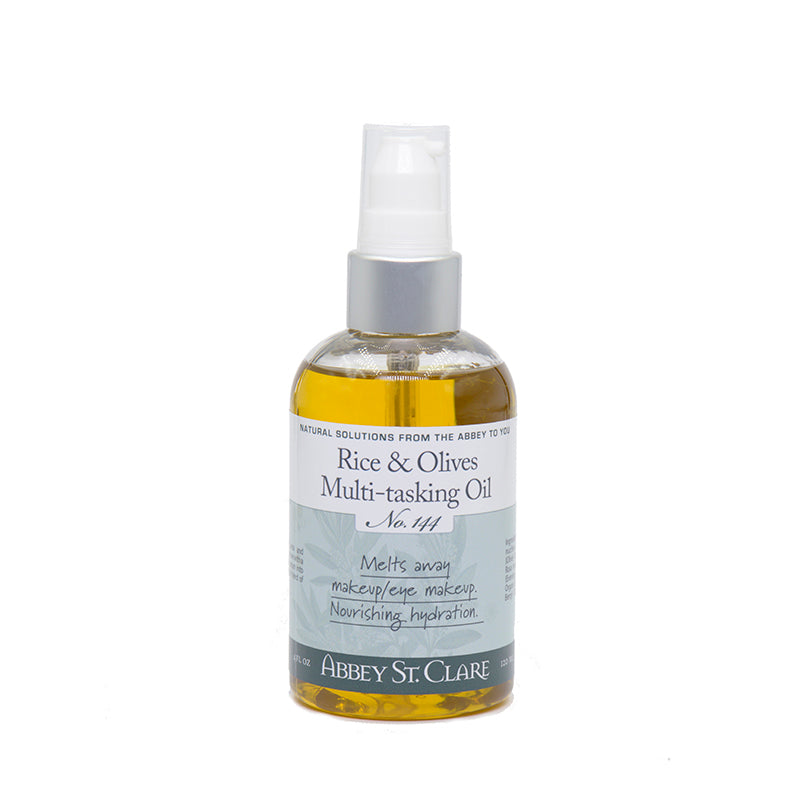 Rice & Olives Multi-Tasking Oil -- Moisturizing Cleansing & Hydration