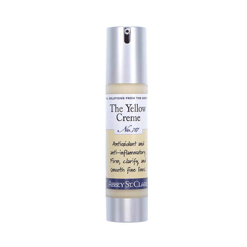 The Yellow Creme - Age defying host of actives including peptides, firming actives, wrinkle smoothing.