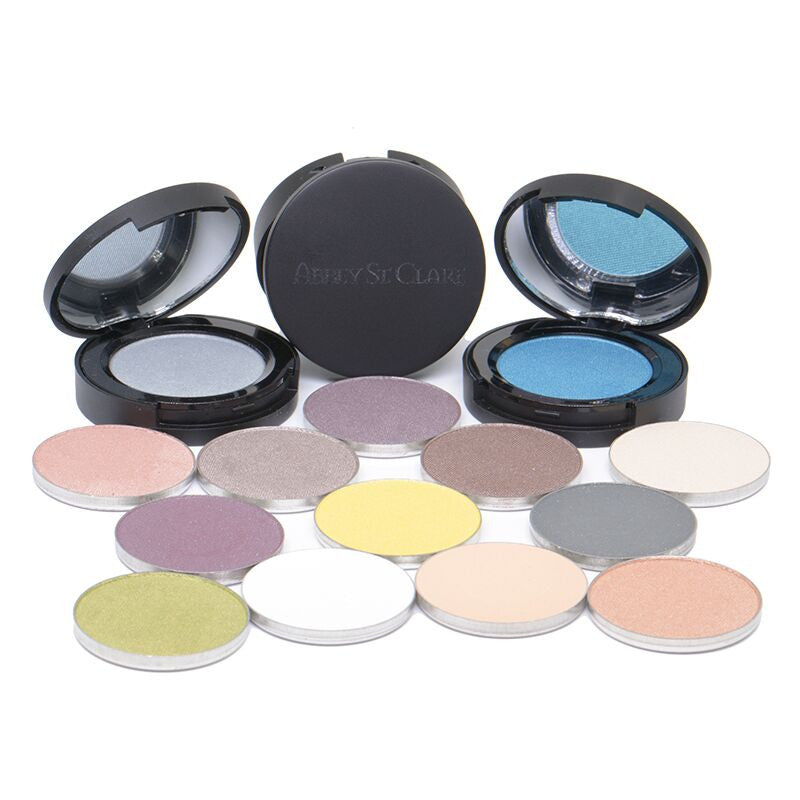 Mineral Pressed Shadow - Elegant formula glides on.  Refillable Compacts!