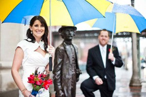 Raining Wedding Photo, Cluney Photography, Wedding Photo