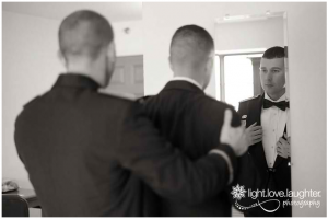 Light Love Laughter Photography, Military Wedding Photo, Tuxedo