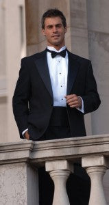 Look sophisticated without going over budget - try the basic tuxedo package for only $129.95.