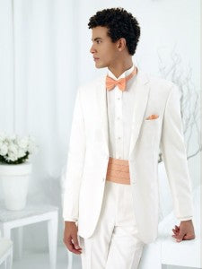 Cummerbunds and ties, when paired perfectly, will not overpower but instead complement a man's tuxedo.