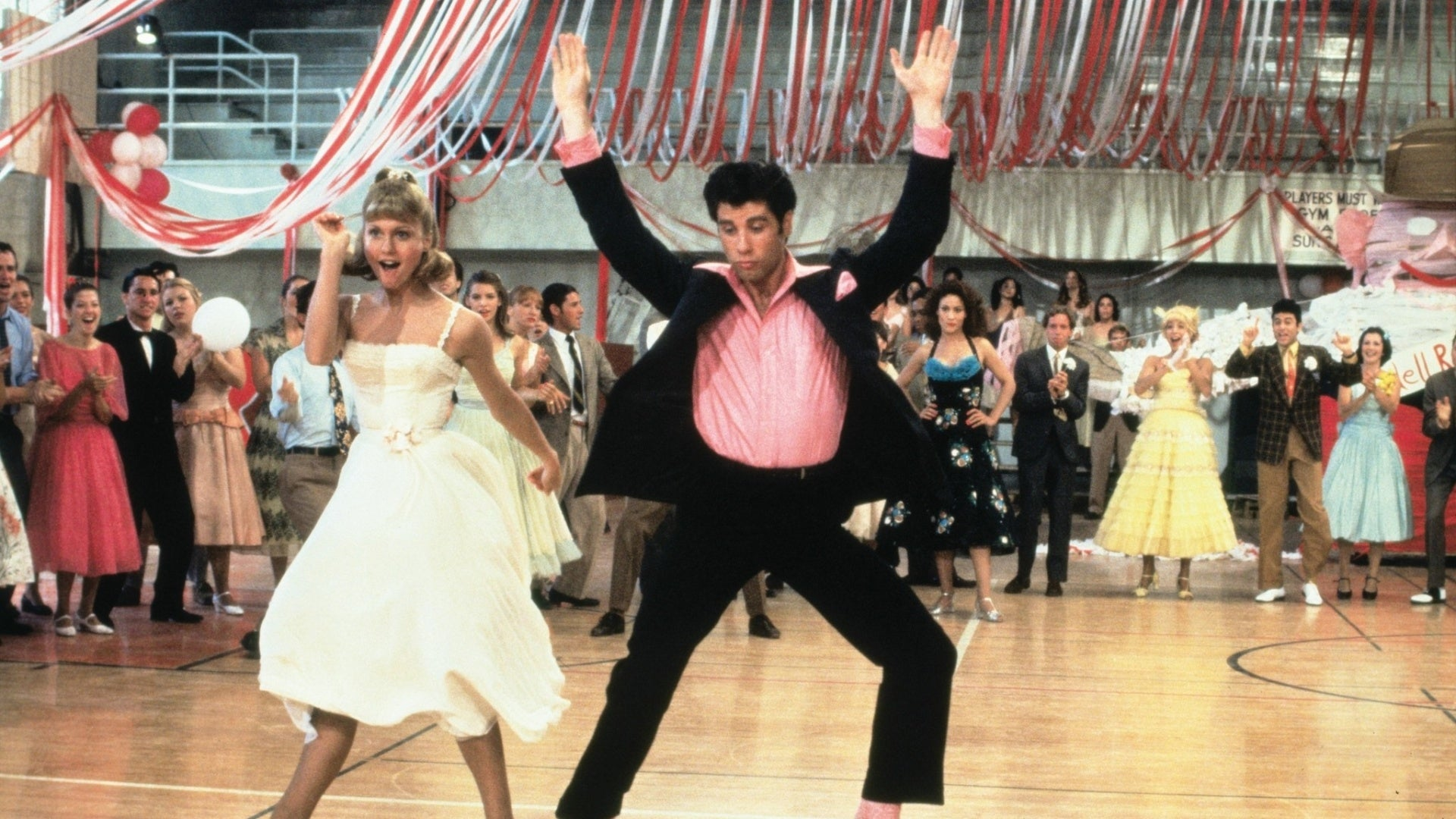 Stand out on prom night. Rock an outfit that's fun and unique, maybe even something that's Travolta-esque.