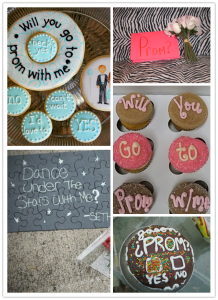 A sweet way to ask someone out to prom - literally!