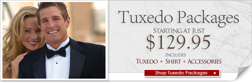 Tux, Shirt and Accessories - Complete package for $129.95