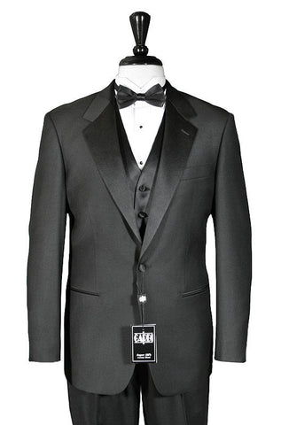 1 Button Super 150's Notch Tuxedo - Cristoforo Cardi