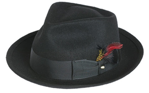 "Black Wool ""Blues Brothers"" Hat"