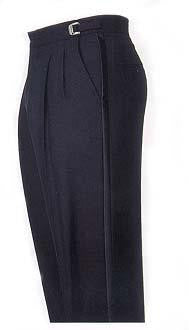 Black Polyester Tuxedo Trousers - Inexpensive Formal Tuxedo Pants