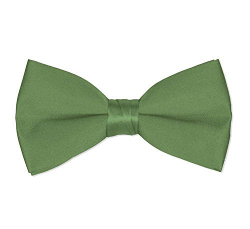 Men's Classic Pre-Tied Formal Tuxedo Bow Tie - Kelly Green