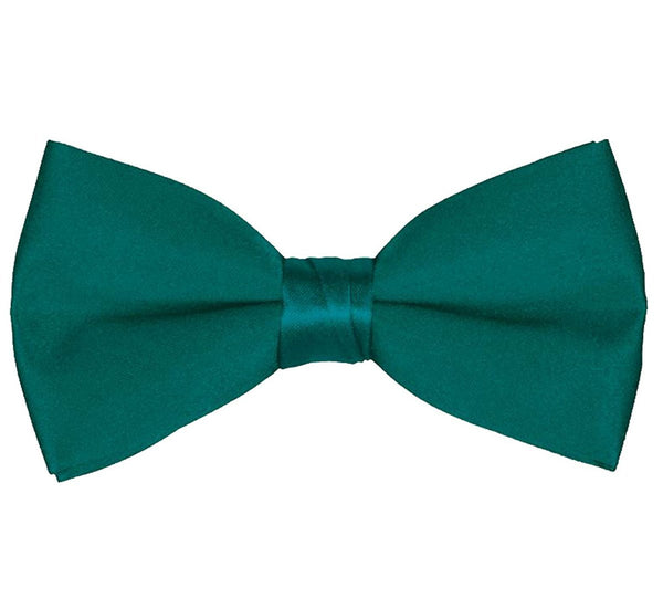 Men's Classic Pre-Tied Formal Tuxedo Bow Tie - Teal