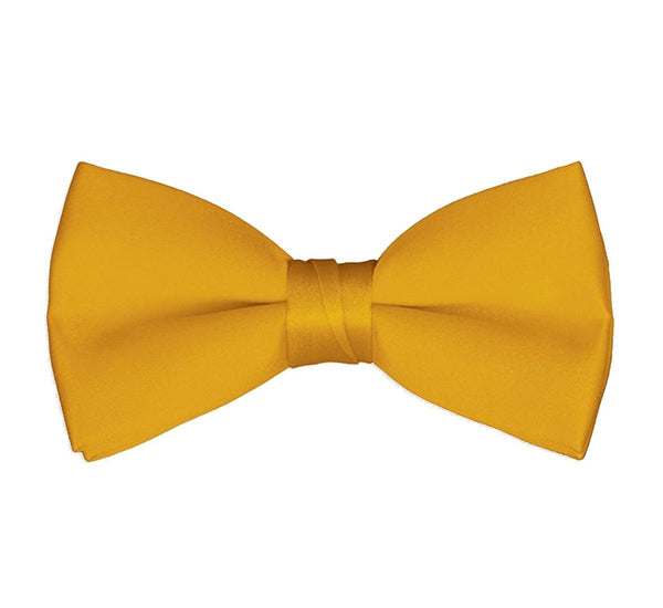 Men's Classic Pre-Tied Formal Tuxedo Bow Tie - Gold